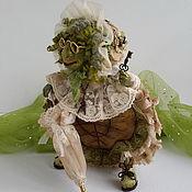 Кукольная еда ручной работы. Ярмарка Мастеров - ручная работа Тортила-5 (И я была девушкой юной, сама не припомню когда...). Handmade.