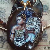 Сувениры и подарки handmade. Livemaster - original item Stones: Pendant-necklace