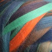 Материалы для творчества handmade. Livemaster - original item Australian Merino. Multicolor Champs Elise. Tempera Italy. 50g. Handmade.