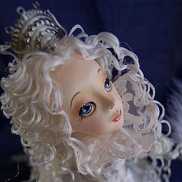 """Куклы и игрушки ручной работы. Ярмарка Мастеров - ручная работа """"Белая Королева""""(по мотивам """"Алисы в Стране Чудес""""). Handmade."""