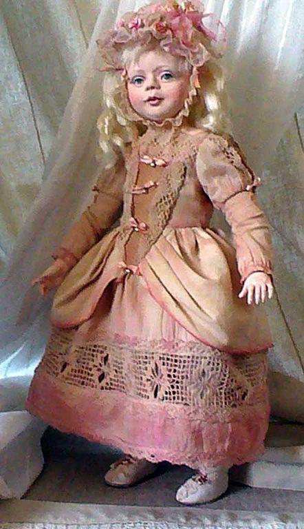 """Коллекционные куклы ручной работы. Ярмарка Мастеров - ручная работа. Купить авторская кукла """"Амалия""""-. Handmade. Коллекционная кукла"""
