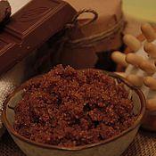 Косметика ручной работы. Ярмарка Мастеров - ручная работа Сахарный скраб для тела Шоколадный. Handmade.