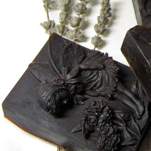 """Мыло ручной работы. Ярмарка Мастеров - ручная работа. Купить Мыло с нуля """"Шоколад и корица"""".100% натуральное шелковое шоколадное.. Handmade."""