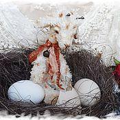 Мягкие игрушки ручной работы. Ярмарка Мастеров - ручная работа Жирафик Белое облачко ( уехал к шикарной мамочке). Handmade.