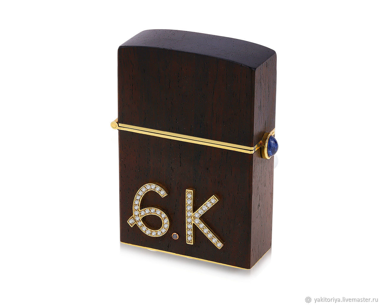 Black wood lighter case German Kabirski, Case, Moscow,  Фото №1