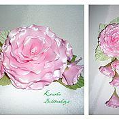 Украшения ручной работы. Ярмарка Мастеров - ручная работа комплект роза с бутонами. Handmade.
