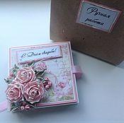 Свадебная коробочка ''Весенний сад''