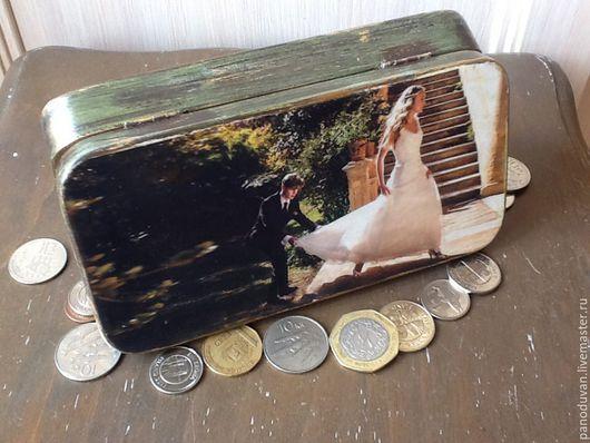 """Шкатулки ручной работы. Ярмарка Мастеров - ручная работа. Купить Шкатулка для денег"""" Особенная"""". Handmade. Купюрница, деньги в подарок, для денег"""