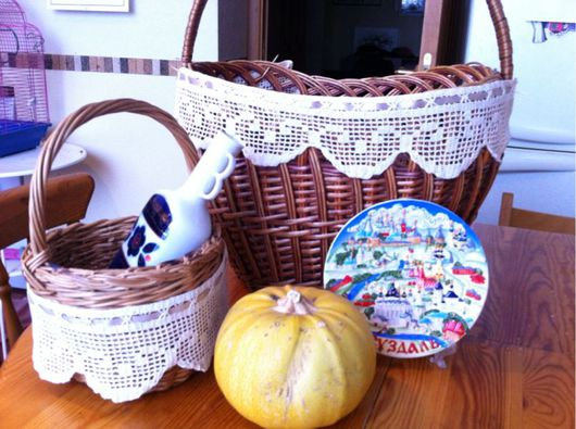 Кухня ручной работы. Ярмарка Мастеров - ручная работа. Купить филейное кружево на все случаи жизни. Handmade. Филейное вязание