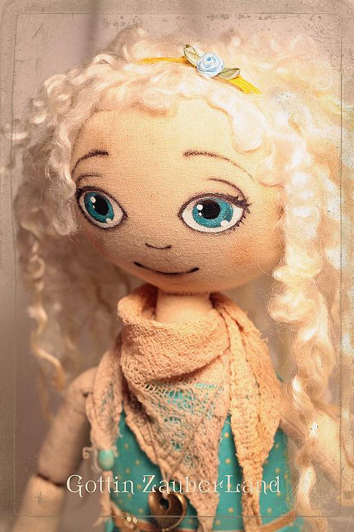 Ароматизированные куклы ручной работы. Ярмарка Мастеров - ручная работа. Купить Selesta. Handmade. Текстильная кукла, Юлия Карминова
