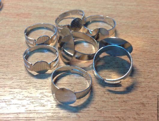 Для украшений ручной работы. Ярмарка Мастеров - ручная работа. Купить Основа для кольца универсальная 8,10,18 мм.. Handmade.