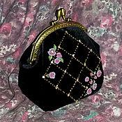 Сумки и аксессуары handmade. Livemaster - original item Cosmetic bag, purse clasp