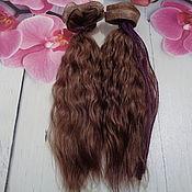 Тыквоголовка ручной работы. Ярмарка Мастеров - ручная работа Тыквоголовка: Волосы для кукол. Handmade.