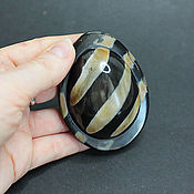 Материалы для творчества handmade. Livemaster - original item Water Buffalo Horn Pendant 72h55mm. Handmade.