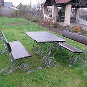 Для дома и интерьера ручной работы. Ярмарка Мастеров - ручная работа комлект садовой мебели. Handmade.