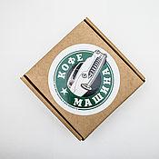 """Сувениры и подарки handmade. Livemaster - original item Чашка """"Кофе машина"""". Handmade."""