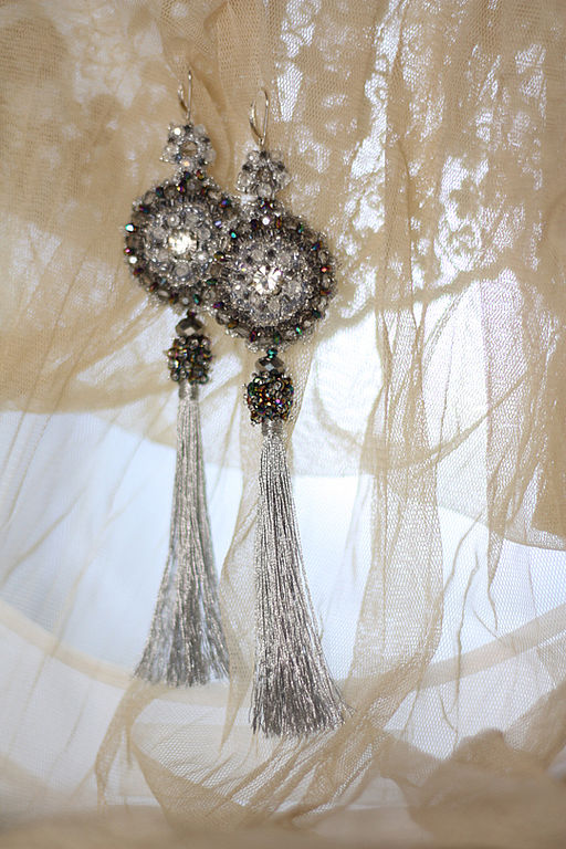 Earrings 'Silver age', Earrings, Riga,  Фото №1