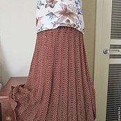"""Одежда ручной работы. Ярмарка Мастеров - ручная работа юбка """"Зигзаг"""". Handmade."""