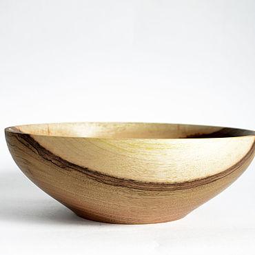 Посуда ручной работы. Ярмарка Мастеров - ручная работа Салатник из древесины ореха. Чаша из дерева. Handmade.