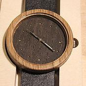Украшения ручной работы. Ярмарка Мастеров - ручная работа наручные часы из дерева (дуб). Handmade.