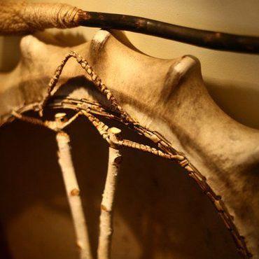 Фен-шуй и эзотерика ручной работы. Ярмарка Мастеров - ручная работа шаманский бубен. Handmade.