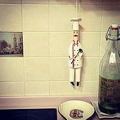"""Куклы и игрушки ручной работы. Ярмарка Мастеров - ручная работа Кукла-колокольчик """"Повар"""". Handmade."""