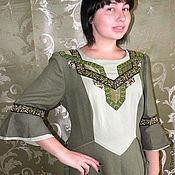 """Одежда ручной работы. Ярмарка Мастеров - ручная работа платье """" Шёпот трав"""". Handmade."""