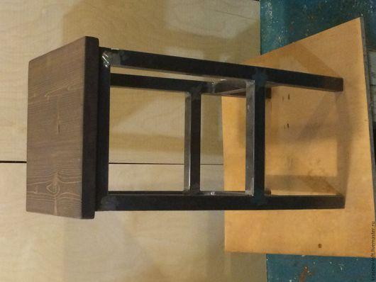 Мебель ручной работы. Ярмарка Мастеров - ручная работа. Купить Табурет. Handmade. Комбинированный, лофт, handmade, сосна