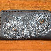 Сумки и аксессуары handmade. Livemaster - original item Phone case made of genuine leather. Handmade.