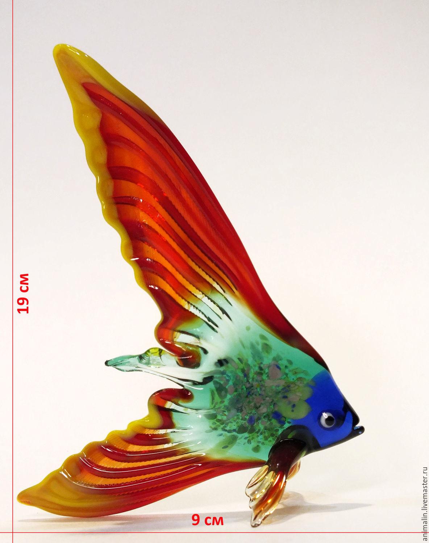 Decorative figurine made of colored glass Fish Scalaria Lena – shop ...