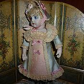 Куклы и игрушки ручной работы. Ярмарка Мастеров - ручная работа платье, шляпка, туфли для миньонетты. Handmade.