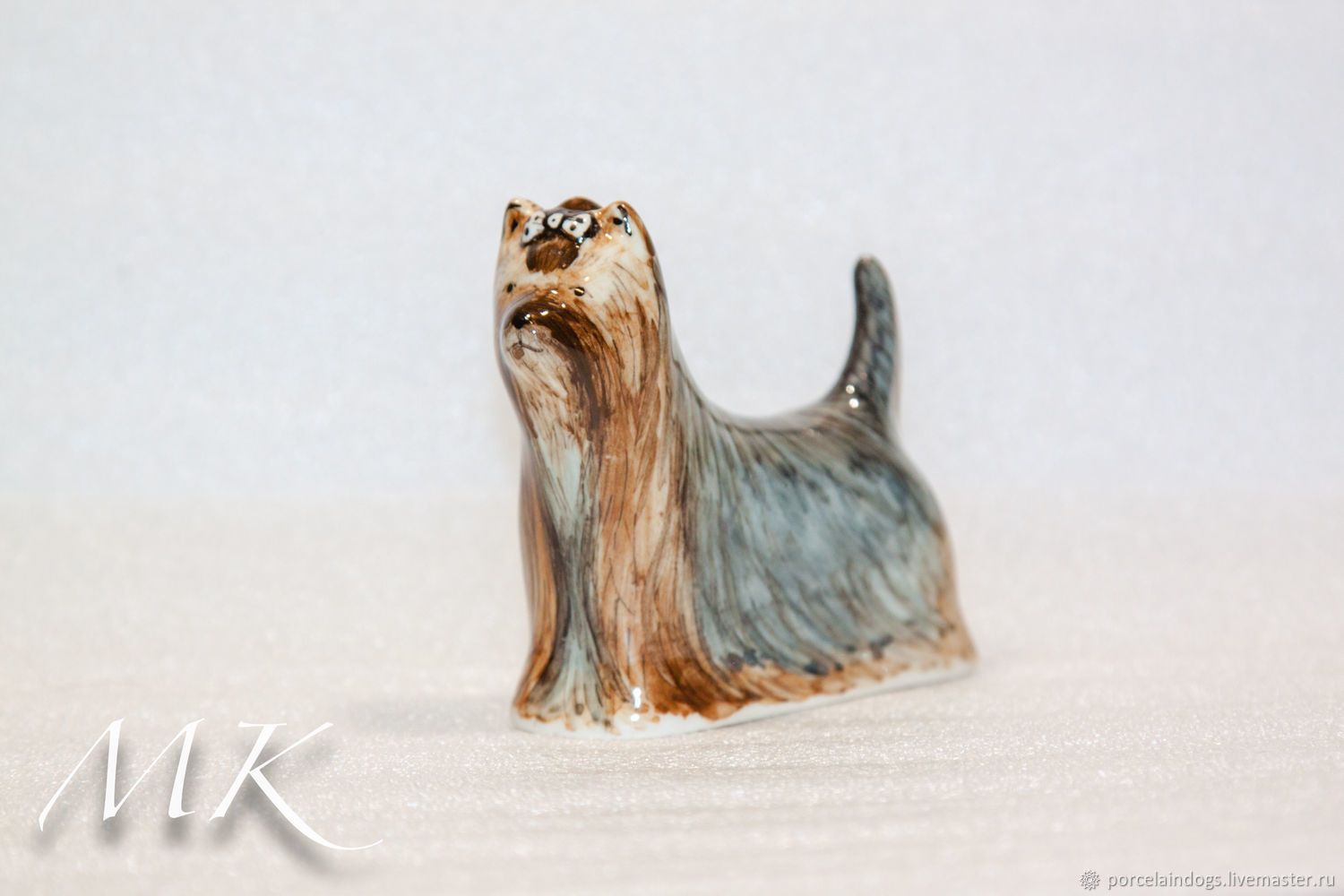 Yorkshire Terrier 'AU Naturel', Figurines, Moscow,  Фото №1