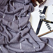 Аксессуары handmade. Livemaster - original item Men`s knitted scarf