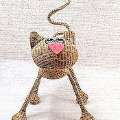 Куклы и игрушки ручной работы. Ярмарка Мастеров - ручная работа Газеткин :). Handmade.