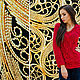 """Кофты и свитера ручной работы. Ярмарка Мастеров - ручная работа. Купить Пуловер """" Рубин"""". Handmade. Ярко-красный"""
