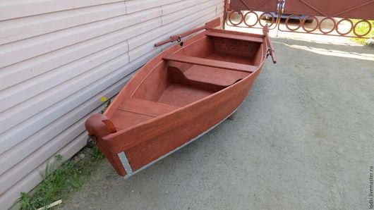 """Экстерьер и дача ручной работы. Ярмарка Мастеров - ручная работа. Купить Лодка деревянная 3,5м., цв. """"Махагон"""". Handmade."""