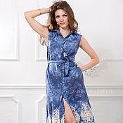 Одежда ручной работы. Ярмарка Мастеров - ручная работа Платье рубашка с вышивкой. Handmade.