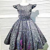 Платья ручной работы. Ярмарка Мастеров - ручная работа Самое блестящее платье. Handmade.