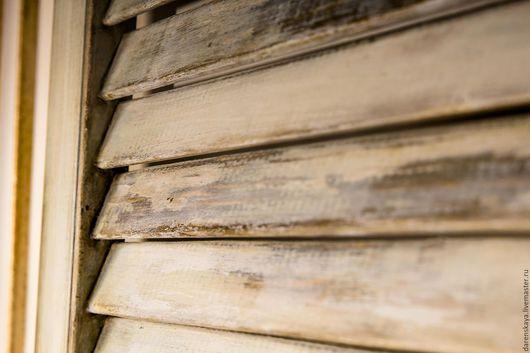 Деревянные ставни на окна `Прованс` Мастерская Марии Даренской