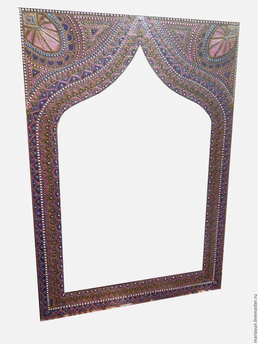 Зеркала ручной работы. Ярмарка Мастеров - ручная работа. Купить Зеркало настенное. Handmade. Комбинированный, интерьерное зеркало, зеркало