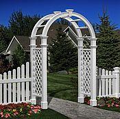 Дача и сад handmade. Livemaster - original item PERGOLA, garden arch in the VICTORIAN STYLE model no. 6. Handmade.