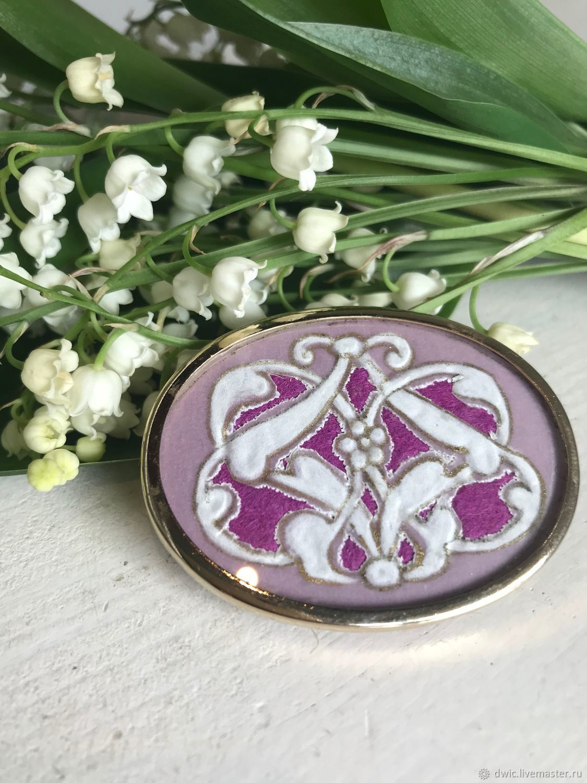 Brooch 'Elegy', Art Nouveau, Holland, Vintage jewelry sets, Arnhem,  Фото №1