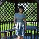 Платья ручной работы. Платье из жаккардовой ткани Райский сад-1. Сударыня. Интернет-магазин Ярмарка Мастеров. Пейсли