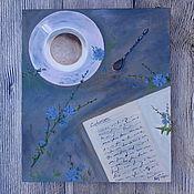 """Картины и панно ручной работы. Ярмарка Мастеров - ручная работа """" Cichorium """". Handmade."""