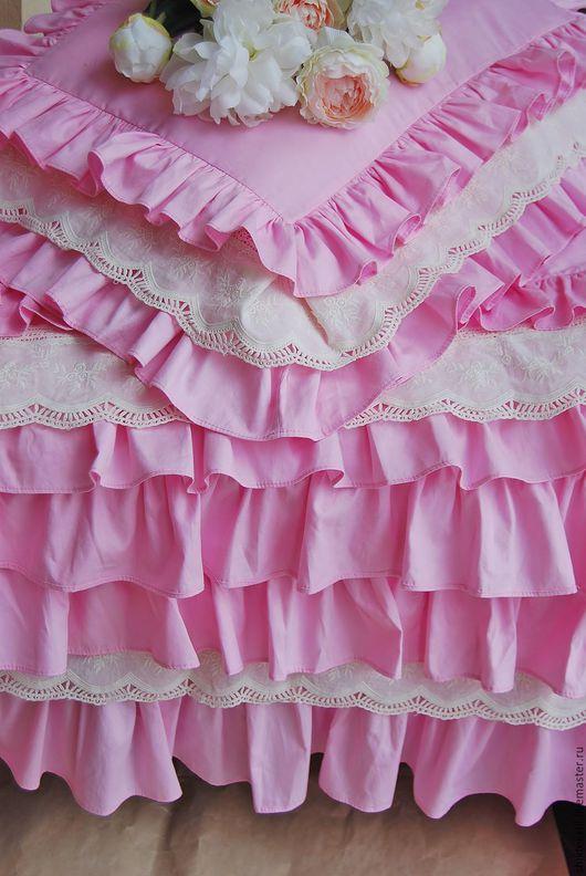 Текстиль, ковры ручной работы. Ярмарка Мастеров - ручная работа. Купить Комплект для маленькой принцессы в стиле shabby chik. Handmade.