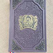 Сувениры и подарки handmade. Livemaster - original item Vladimir Karpov: Generalissimo (gift leather book). Handmade.