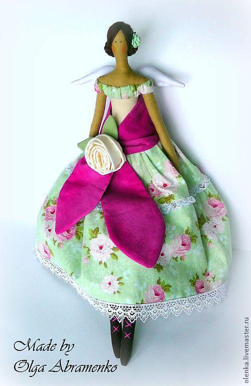 Куклы Тильды ручной работы. Ярмарка Мастеров - ручная работа. Купить Тильда Фея. Handmade. Тильдя фея, тильда