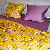 Для дома и интерьера handmade. Livemaster - original item Bed linen is Fabulous lilac. Handmade.