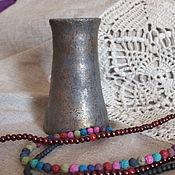 Для дома и интерьера ручной работы. Ярмарка Мастеров - ручная работа Небольшая ваза. Handmade.