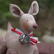 Куклы и игрушки ручной работы. Ярмарка Мастеров - ручная работа Рождественский олень, длинноногий.. Handmade.